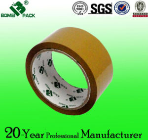 BOPP Adhesive Tape Brown (BOPP Film and Water-Base Acrylic) pictures & photos