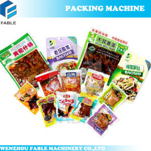 Pre-Pouch Automatic Vacuum Packing Machine Line pictures & photos