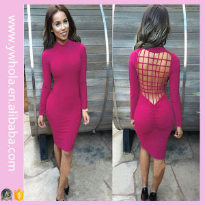 Classic Hot Selling Autumn Sexy Party Bandage Ladies Dress (Dress 140) pictures & photos