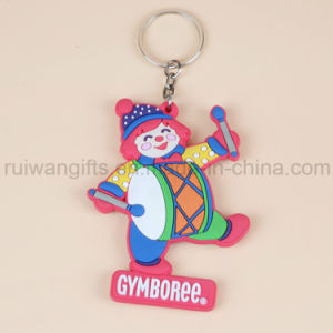 Promotional Animal Design Soft PVC Keychain, Rubber Keychain pictures & photos