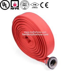 1 Inch Canvas Flexible Fire Sprinkler Hose PU Pipe pictures & photos