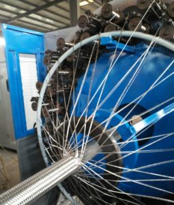 High Pressure Hose Electric Wire Automatic Control Braiding Machine pictures & photos