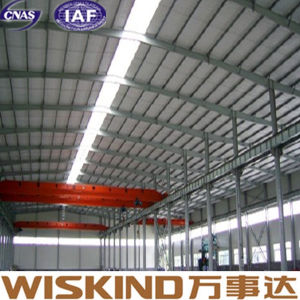 Cheap Price Good Insulation Steel Structure with Crane Beam pictures & photos