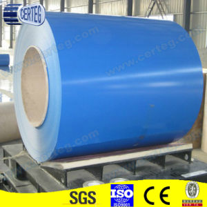 0.45X1220/1250mm PPGL Coil Ral5012 Blue and Ral9002 White Coils pictures & photos