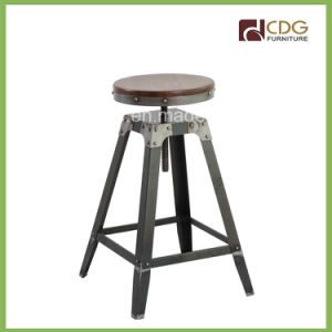 643-H65-Stw Adjustable Bar Stools for Heavy People