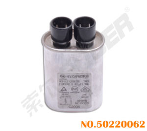 Microwave Oven Parts Best Quality 0.82 UF Capacitor for Microwave Oven (50220062-0.82 UF-Positive) pictures & photos