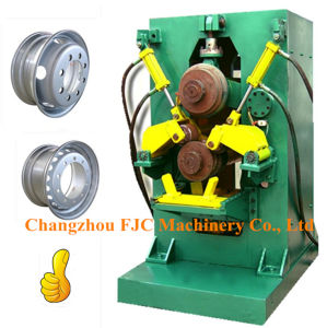 Agricultural Tubeless Wheel Rim Manufacturing Two Rollers Roll Forming Machine pictures & photos