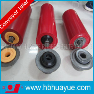 Quality Assured Pretty Competitive Price Rubber Conveyor Idler Roller Diameter 89-159mm Huayue pictures & photos
