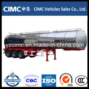 Cimc 60000 Liters Stainless Steel Oil Tank Trailer pictures & photos