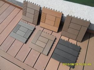 Cheap Composite DIY Tile From China pictures & photos