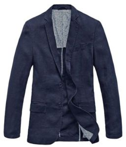 Men′s Lightweight Half Lined Two-Button Suit Blazer pictures & photos