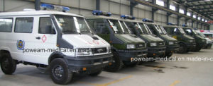 Iveco 4WD Right Hand Drive or Left Hand Drive Emergency Ambulance (6DFS6402JN) pictures & photos