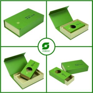 Luxury Cardboard Jewelry Ring Necklace Box pictures & photos