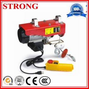 Micro Hoist Electric Winch Hoist pictures & photos
