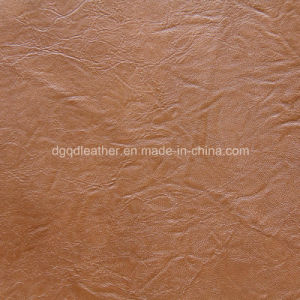 Fashion Curly Grain for The Furniture Leather (QDL-53160) pictures & photos