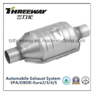 Car Exhaust System Three-Way Catalytic Converter #Twcat0061 pictures & photos