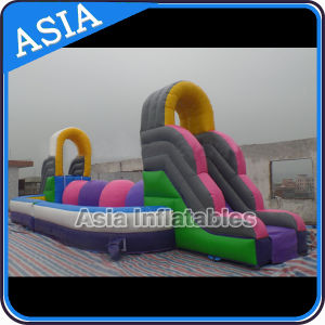 Outdoor Inflatable Wipe out Challenge slide for Sale pictures & photos