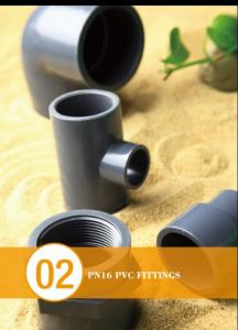 DIN8062 Pn16 PVC Pipe Fitting with Socket Connecting for Industrial Application pictures & photos