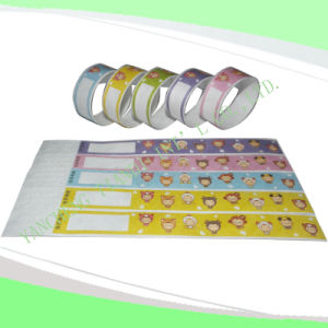 Entertainment Tyvek Customed Cheap Party VIP Paper Wristbands (E3000-1-2) pictures & photos