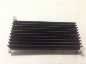 Low Power Aluminum Heat Sinks for Set up Cable Box pictures & photos