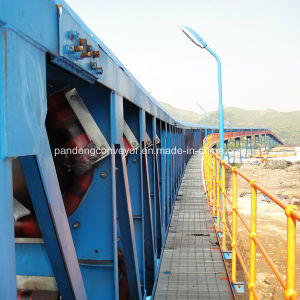 Dg Type Dustproof Pipe Belt Conveyor for Protecting Environment pictures & photos