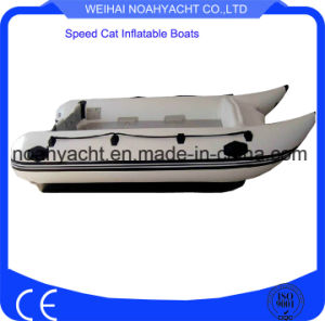 PVC or Hypalon Inflatable Speed Fishing Boats with Aluminum Floor pictures & photos
