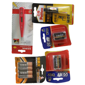 Battery Blister Papercard Packaging Machine pictures & photos