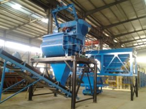 60m3 Movable Concrete Mixer Plant Price in Kenya Hls Series Concrete Batching Plant pictures & photos