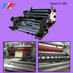 Double Rolling Shaft Label Rewinding Machine