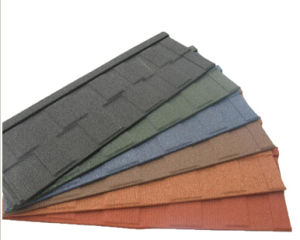 Stone Coated Metal Roof Tile, Stone Coated Roof Tile, Ceramic Glazed Roof Tile pictures & photos