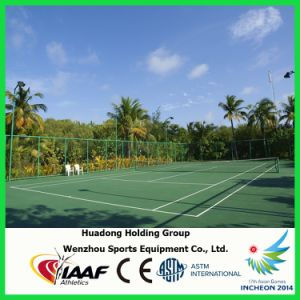Iaaf Professional Rubber Tennis Court Flooring Material pictures & photos