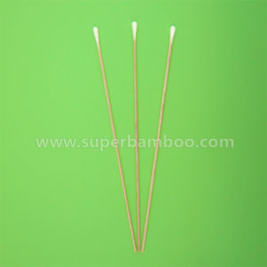 8′ Wooden Stick Cotton Swab for Medical/Industry Use (W222034)