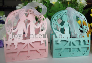 Wedding Souvenir Candy Box Favors Elephant Laser Cut Wedding Return Gift
