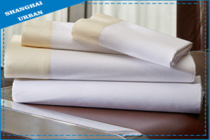 Cotton Polyester Fitted Sheet Hotel Linen pictures & photos