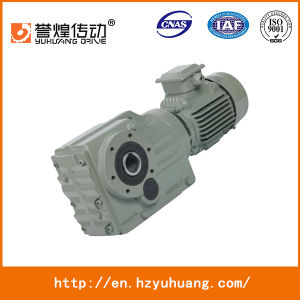 for Machine Sew Type Bevel Gearbox K97 Helical Arrangement Gearbox pictures & photos