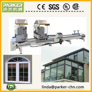 Aluminum Digital Display Double Mitre Saw Cutting Machine pictures & photos