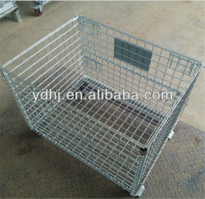 Heavy-Duty Steel Wire Storage Cage pictures & photos