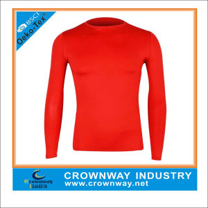 Custom Gym Fitness Nylon Compression Shirts for Men pictures & photos