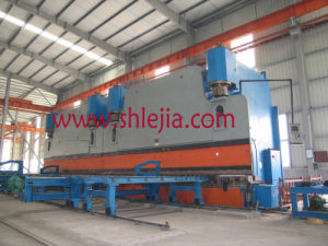 Double Combined Press Brake for Light Pole Production pictures & photos