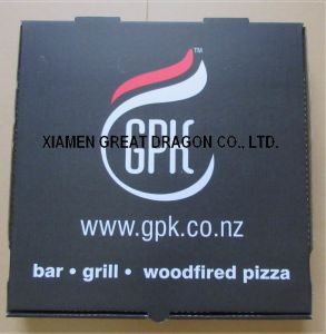 Locking Corners Pizza Box for Stability and Durability (PB160596) pictures & photos