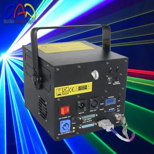 Custom Fantastic RGB Laser Light Systems Disco Christmas Party Lighting 30k 2000MW pictures & photos