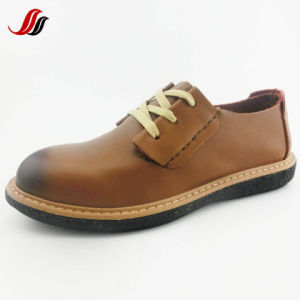 New Design High Quality Men′s Leather Shoes Fashion Shoes (LZ14) pictures & photos