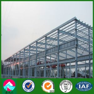 H-Section Steel Structure Workshop in Nigeria (XGZ-SSW 491) pictures & photos