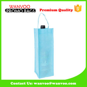 Natural Non Woven Tote Drinking Bag with Single Handle pictures & photos