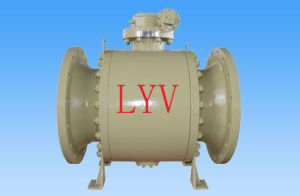 Top Entry F316 Flanged Fixed Ball Valve