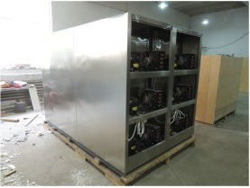 Full Stainless Steel Corpse Freezer (THR-FR001) pictures & photos