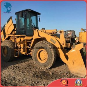 Yellow-Coat Available-Engine/Pump Used 2009 3~5cbm/22ton Container-Shipping Caterpillar 966g Wheel Loader pictures & photos