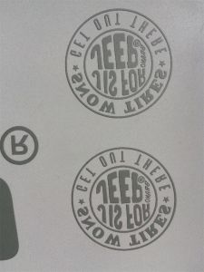 Custom Made with Reflect Labels/ Reflective Heat Transfer Stickers pictures & photos