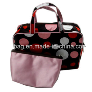 Fashion Cosmetic Bag with Handle
