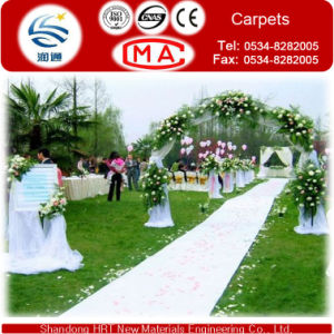 Decovative Red Exhibition Wedding Carpet /Wedding Hall Mat/ Stage Carpet pictures & photos